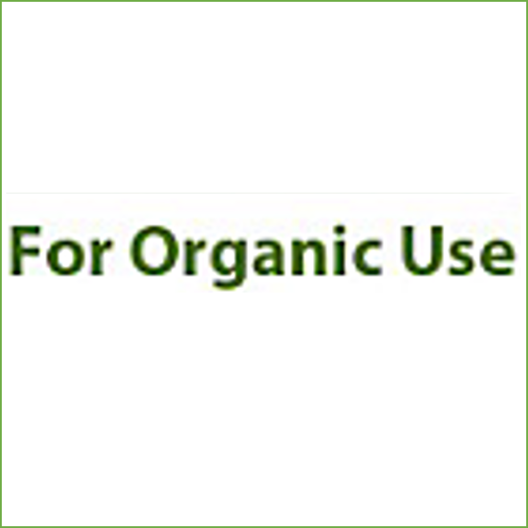For Organic Use Hover Image